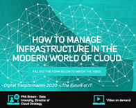 How to Manage Infrastructure in the Modern World of Cloud