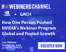 How One Person Pushed NVIDIA's Webinar Program Global and Fueled Growth