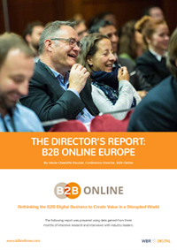 The Director's Report: B2B Online Europe