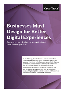 Businesses Must Design for Better Digital Experiences