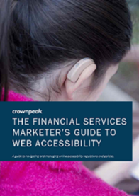 The Financial Services Marketer's Guide To Web Accessibility
