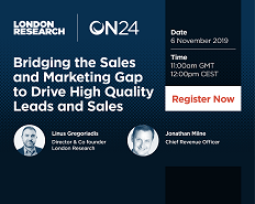 Bridging the Sales and Marketing Gap to Drive High-Quality Leads and Sales