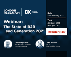 Webinar: The State of B2B Lead Generation 2021