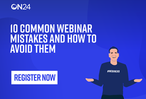 10 Common Webinar Mistakes to Avoid in 2019 EMEA