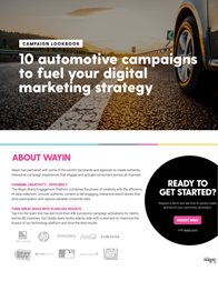 10 Automotive Campaigns to Fuel your Digital Marketing Strategy