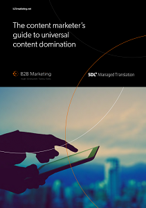 The content marketer's guide to universal content domination