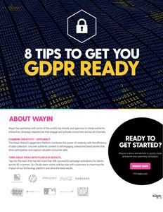 8 Tips To Get You GDPR Ready