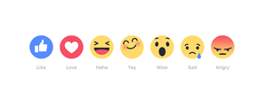 Facebook's New Reactions are the Best Thing to Happen to Social Media Marketers