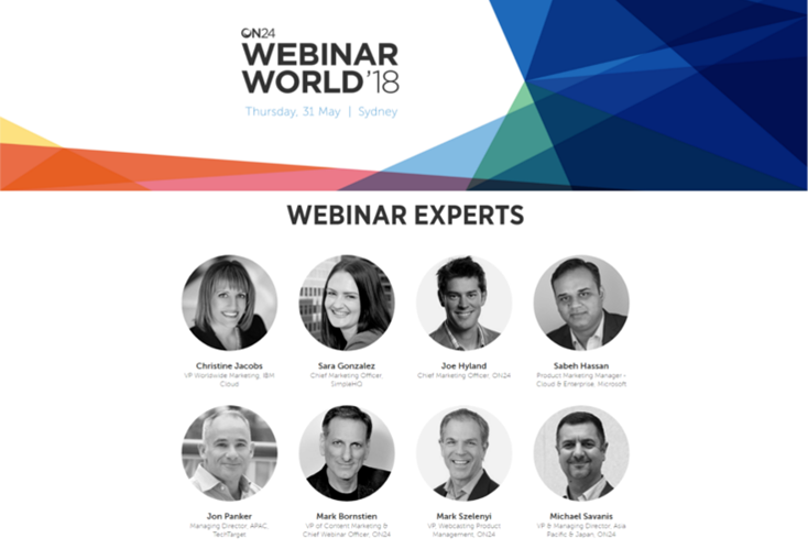 ON24 Webinar World Sydney 2018