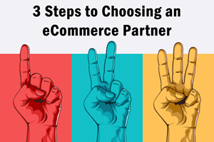 3 Steps to Choosing an eCommerce Partner