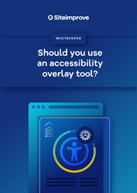 Should You Use an Accessibility Overlay Tool?