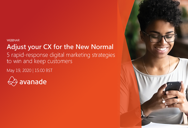 Live Webinar: Adjust your CX for the New Normal