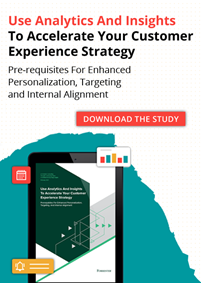 Forrester Study: How Are Companies Tackling Customer Experience in 2021?