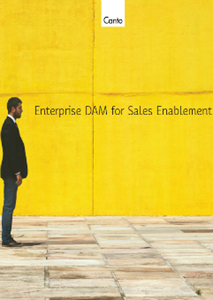 Enterprise DAM for Sales Enablement