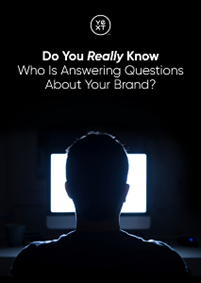 Who is Answering Questions About Your Brand?