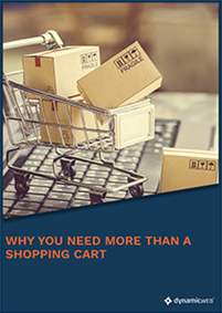 Why You Need More Than a Shopping Cart