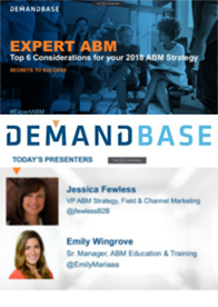 On Demand Webinar: Top 6 Considerations for your 2018 ABM Strategy