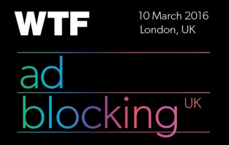 WTF Ad Blocking UK 2016
