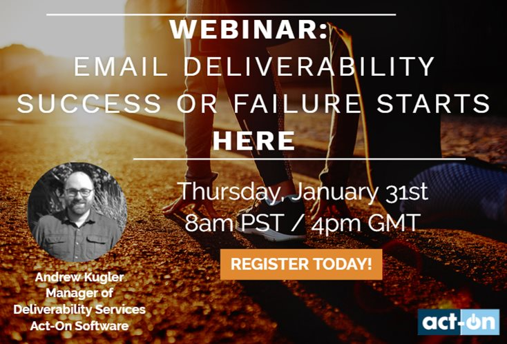 Email Deliverability Success or Failure Starts Here