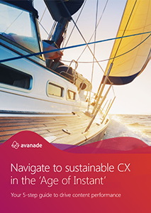 Navigate to Sustainable CX in the 'Age of Instant'