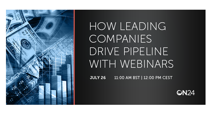 Webinar: How Leading Companies Drive Pipeline with Webinars