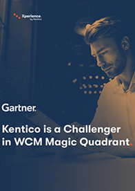 Gartner Magic Quadrant for Web Content Management 2019