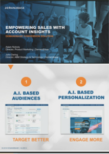 Empowering Sales with Account Insights