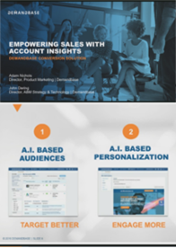 On Demand Webinar: Empowering Sales with Account Insights