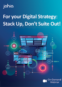 For your Digital Strategy: Stack Up, Don't Suite Out!