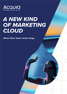 A New Kind of Marketing Cloud: Where Data Takes Center Stage