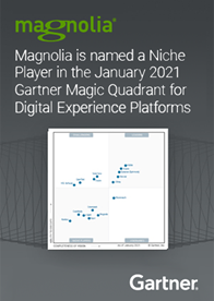 Gartner Magic Quadrant for Digital Experience Platforms 2021