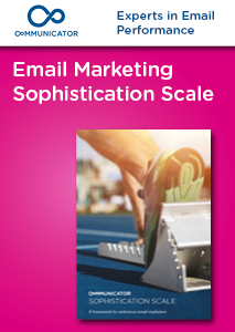 Email Marketing Sophistications Scale: A framework for ambitious email marketers