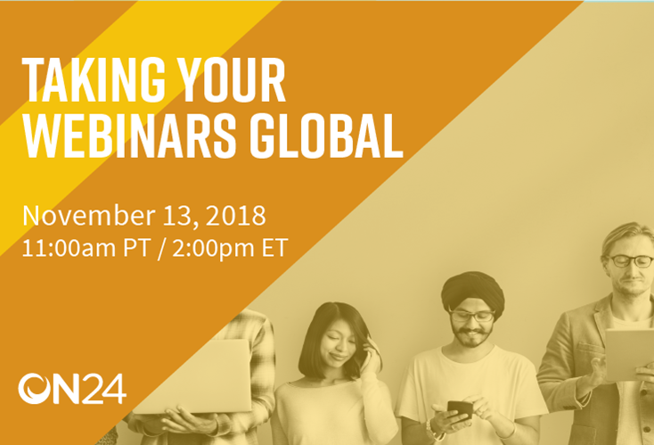 Taking Your Webinars Global USA
