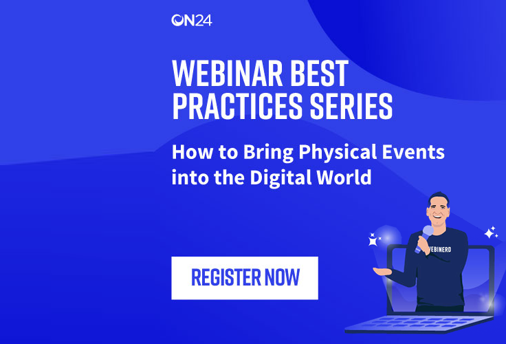 How to Bring Physical Events into the Digital World - EMEA