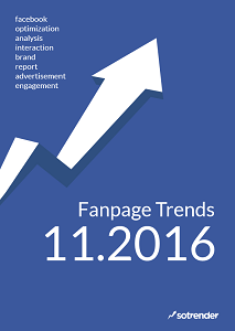 Facebook Fanpage Trends UK - November 2016