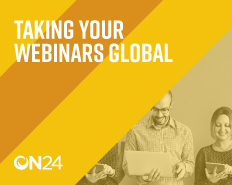 Taking Your Webinars Global EMEA