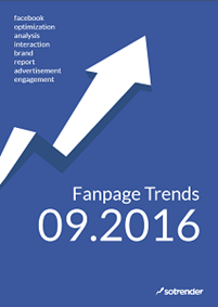 Facebook Fanpage Trends - September 2016