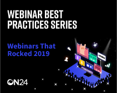 Webinars that Rocked, 2019 - EMEA