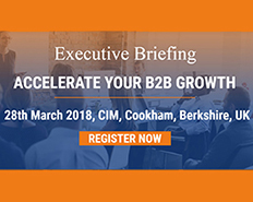 Executive Briefing: Accelerate your B2B Growth with ABM, AI and Predictive Analytics