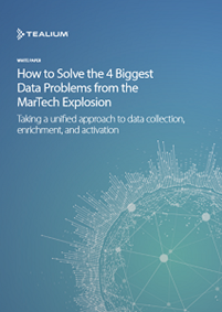 How to Solve the 4 Biggest Data Problems from the MarTech Explosion