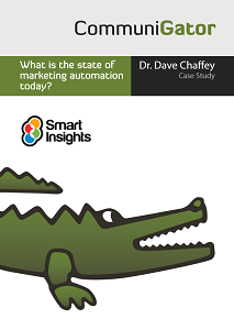 What is the state of marketing automation today? – Dave Chaffey Interview