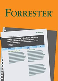 Forrester Wave™ Report: Predictive Marketing Analytics for B2B Marketers