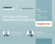 Live Webinar: The State of Online Reputation Management 2020