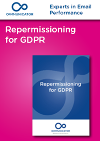 Repermissioning for GDPR