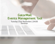 Webinar: GatorMail - Events Management Tool
