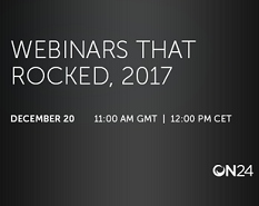 Webinar: Webinars That Rocked 2017
