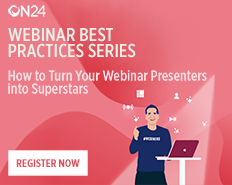 How to Turn Your Webinar Presenters into Superstars - EMEA