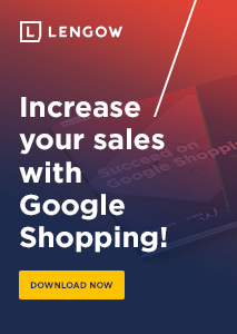 Increase your sales with Google Shopping