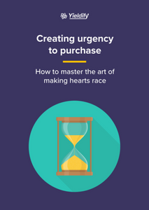 Creating urgency to purchase
