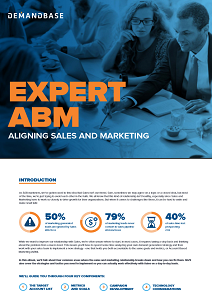 Expert ABM: Aligning Sales and Marketing
